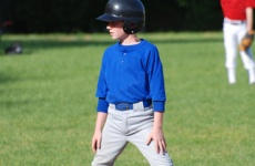 Image of boy playing baseball